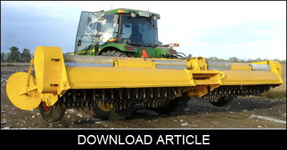 Cotton Mulcher