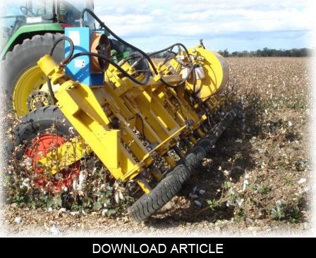 8 Row Cotton Stalkpuller